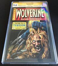 Wolverine (2003) #55 CGC 9.8 Variant Crime SuspenStories 22 Signed Quesada