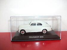 18.10.15.5 Peugeot 203 les voitures de mon père Atlas 1/43