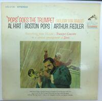 Pops Goes The Trumpet Al Hirt Arthur Fiedler LP Vinyl Record LSC-25729