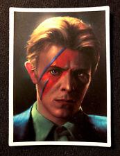"David Bowie Sticker The Perfect Artist� 2"" X 3"""
