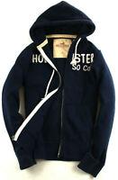 Hollister Kapuenpullover Hoddie Marineblau Gr. L