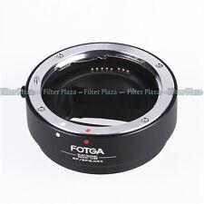 FOTGA Auto Focus AF Canon EOS EF EF-S lens to Sony NEX A7 A7R E Mount Adapter FF