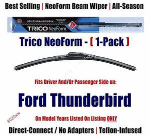 Super Premium NeoForm Wiper Blade Qty 1 fits 1990-1997 Ford Thunderbird - 16220