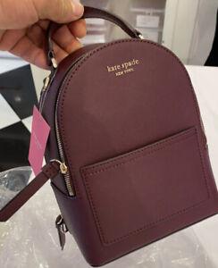 Kate Spade Cameron Mini Convertible Backpack Crossbody Bag Cherrywood $259