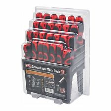 KING 26 PC Screwdriver Set w/Stand, Slotted, Phillips, Pozi, and Star