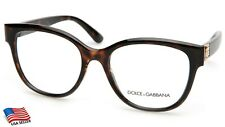 NEW D&G Dolce&Gabbana DG 5040 502 HAVANA EYEGLASSES GLASSES 54-18-140 B48 Italy