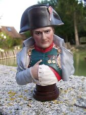 RE0208    FIGURINE STATUETTE  BUSTE   REPRODUCTION NAPOLEON  BONAPARTE EMPEREUR