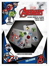 MARVEL AVENGERS HEROES TECH STICKERS PACK (33) NEW 100% OFFICIAL MERCH