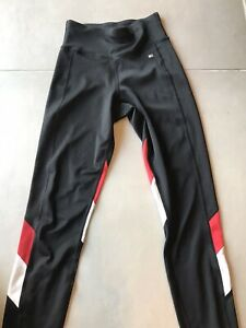 Tommy Hilfiger Black High-rise Womens Leggings Size XS Perfect Condition