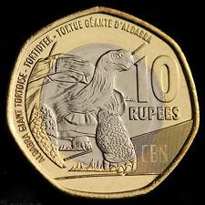 Seychelles coin 10 Rupees 2016, Bimetallic,UNC, Animals (Fauna) Reptiles Turtles