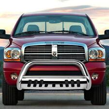 Fit 02 09 Dodge Ram 150025003500 Truck Chrome Bull Bar Push Bumper Grill Guard Fits 2005 Dodge Ram 1500