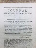 Bataille de Friedberg 1796 Schroeder Jourdan Férino Saint Cyr Journal Patrie