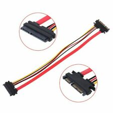 30cm 22Pin(15+7) Male To Female SATA Serial ATA Data Power Cable Extension Cord