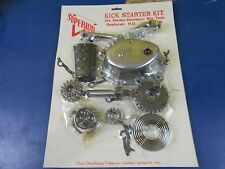 POLISHED KICK START KIT HARLEY DAVIDSON 4 SPEED BIG TWINS 1965-1984 PN 33055-69