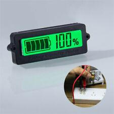 12V 24V 36V 48V LCD car Acid Lead Tester Voltage Voltmeter Digital Indicator