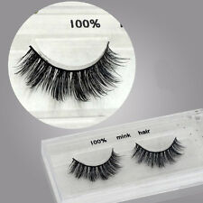 S505 luxurious 100% Mink Hand made Natural Thick soft eye lashes False eyelashes