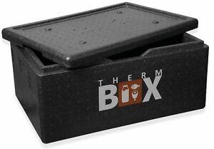 THERM BOX Styroporbox Groß 40-Liter Isolierbox Thermobox Warmhaltebox Kühlbox