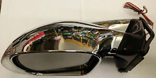 M3 Style Universal Door / Wing Mirrors With Indicators Chrome Pair