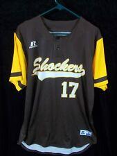 WICHITA STATE SHOCKERS BASKETBALL JERSEY large men's 2 button sports shirt 17