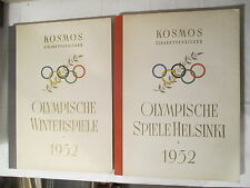 2 Cosmos collages albums Jeux Olympiques 1952