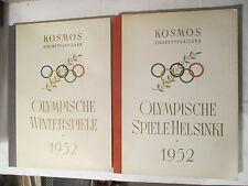 2 Kosmos Sammelbilderalben Olympische Spiele 1952