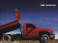 2006 Chevrolet Commercial Truck Sales Brochure - Sivlerado Kodiak Colorado