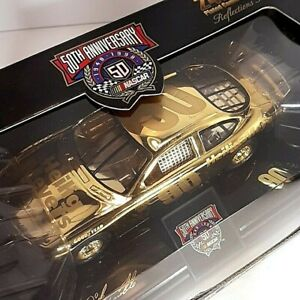 Racing Champions Limited Edition 24K Gold Plated NASCAR 50TH Anniversary #90 Car
