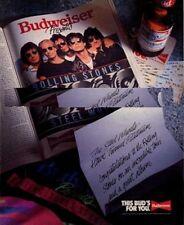 Rolling Stones 'Steel Wheels' Beer advert
