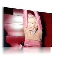 MARILYN MONROE ACTRESS MODEL SEX SYMBOLS  Canvas Wall Art Picture MM83 MATAGA .