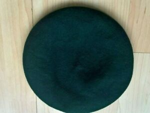 Vintage Bukta Scout Beret, Royal Marines Commando Green   Pure wool