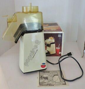 Vintage Hamilton Beach Popaire 2 Hot Air Popcorn Popper Model 511 - Working