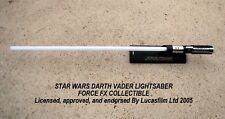 STAR WARS Darth Vader FORCE FX LIGHTSABER COLLECTIBLE