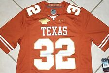 NEW Nike TEXAS LONGHORNS Red River Rivalry Football Jersey Mens Sm Large SEWN
