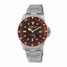 Tourbillion Watch Company Vintage Collection Brown Dial Stainless Steel TW1352MD
