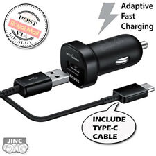 Genuine Original Samsung Galaxy A3 (2017) SM-A320Y Fast Charge Car Charger+Cable