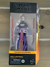 "Hasbro Star Wars The Black Series Asajj Ventress 6"" Clone Wars IN HAND"