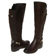 New Women's Fashion Boots Brown Knee High Shoes Winter Snow Ladies size 8