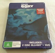 Finding Dory (2016) - Limited Edition Steelbook Blu-Ray + DVD