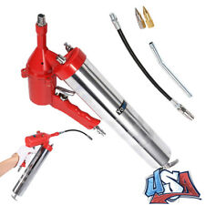 Universal One Hand Pistol Grip Air Grease Gun Deliver 1200-6000psi extension Set