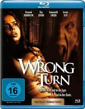 WRONG TURN 1 (Remastered) - Blu Ray - Sealed Region B for UK