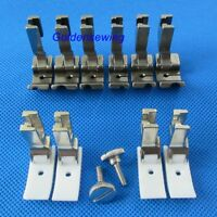 10 PIPING CORDING FOOT HIGH SHANK HINGED for Pfaff 463 INDUSTRIAL