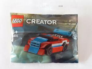 Brand New Lego - Race Car (2019) - Creator - 30572 Polybag/Promo Set