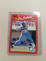 1990 Donruss Bo Jackson #650 Baseball Card - All Star - Kansas City Royals