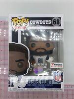 Funko Pop Cowboys Ezekiel Elliott Color Rush Fanatics Exclusive #68 C02