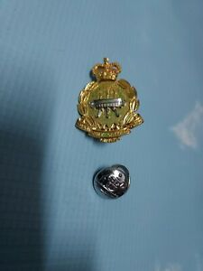 Vintage Australia Australian Aust Army Catering Corps Pin And Button
