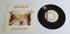 "Queen Innuendo 7"" Single A2U B2U Pressing - VG+"