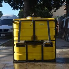 500 Litre Mobile Tank with with 2 inch Camlock fitting and fork lift sleeves