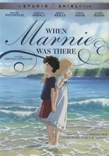 WHEN MARNIE WAS THERE NEW DVD