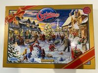 GIBSONS 1000 PIECE JIGSAW-LIMITED EDITION CHRISTMAS PUZZLE-VILLAGE FESTIVITIES
