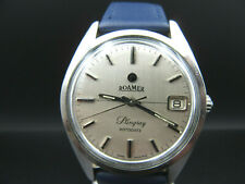 "K682⭐⭐ Vintage "" ROAMER Stingray Rotodate ""  Armbanduhr Automatic Kal.471 ⭐⭐"